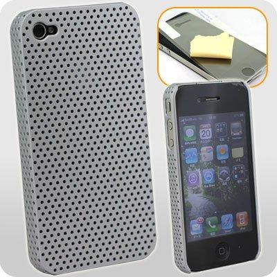 iPhone4専用 メッシュハードケース(シルバー) F70-FR06SV【iPhone4 iPhone 4 カバー ケース】
