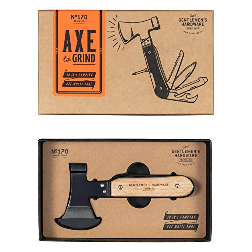 Gentlemens Hardware 10-in-1 Pocket Axe Multi-Tool