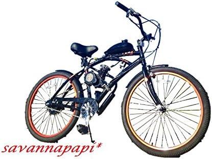 Savannamama 66 ccc/80 CC Motor de 2 Tiempos DIY motorizado Kit de ...