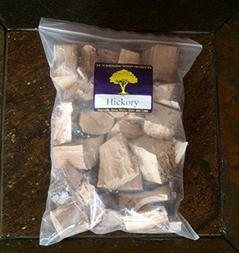J.C.'s Smoking Wood Chunks - Gallon Sized bag - Hickory (Hickory Chunks)