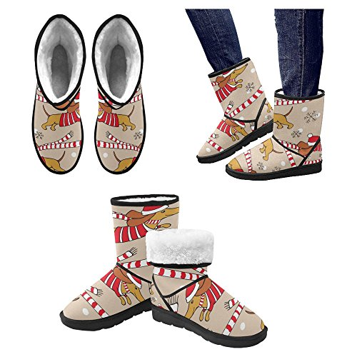 Snow Stivali Da Donna Di Interestprint Stivali Invernali Comfort Dal Design Unico 19