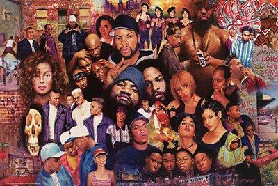 Legends Of Rap & Hip Hop Poster (24x36) PSA010012
