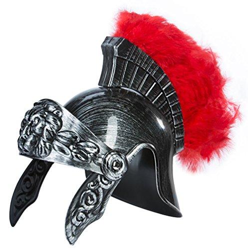 Kangaroo Roman Legion Gladiator Hemet- Silver