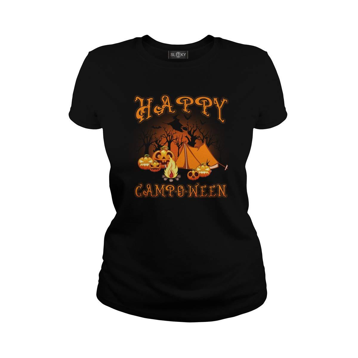 Happy Camping Halloween Tshirt