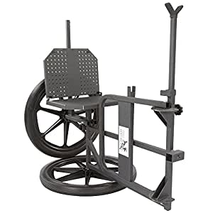 Kill Shot Throne 3-in-1 Game Cart, Hunting Chair Shooting Rest
