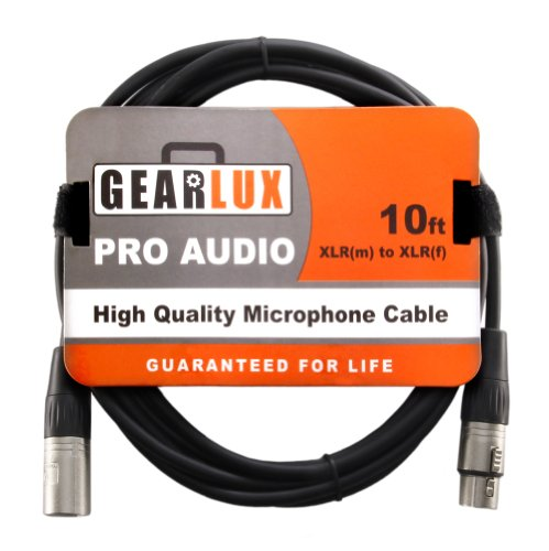 Gearlux XLR Microphone Cable