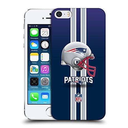 Officiel NFL Casque New England Patriots Logo Étui Coque D'Arrière Rigide Pour Apple iPhone 5 / 5s / SE