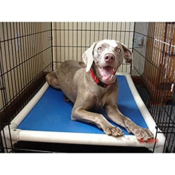 kuranda 84 x elevated chewproof crate dog bed