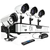 Zmodo 8CH H.264 Complete Security System CCTV Surveillance Camera System With 4 Night Vision IR Surveillance Camera No Hard Drive, Best Gadgets