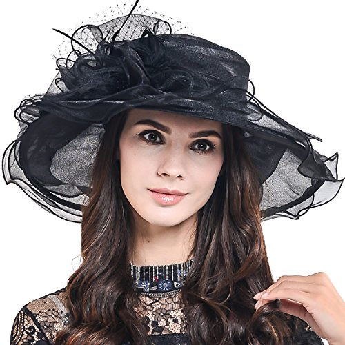 Lightweight Kentucky Derby Church Dress Wedding Hat #S052 -
