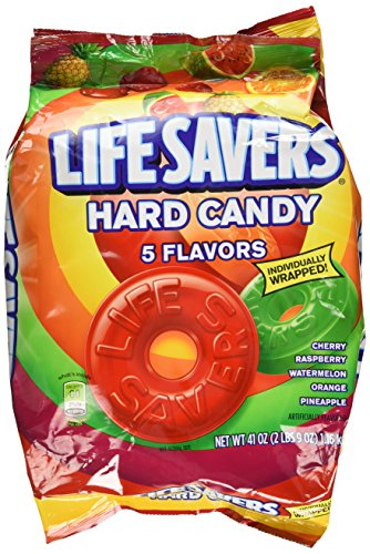 Lifesavers Original Five Flavors Hard Candy, 41 oz. Bag