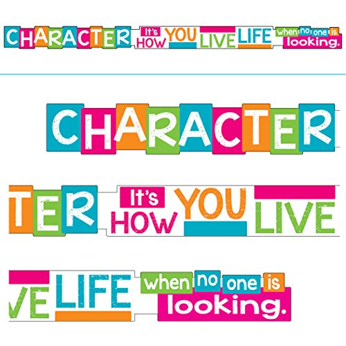 Argus Trend Enterprises, Inc. T-A25202 Character It's How You Live Banner, -