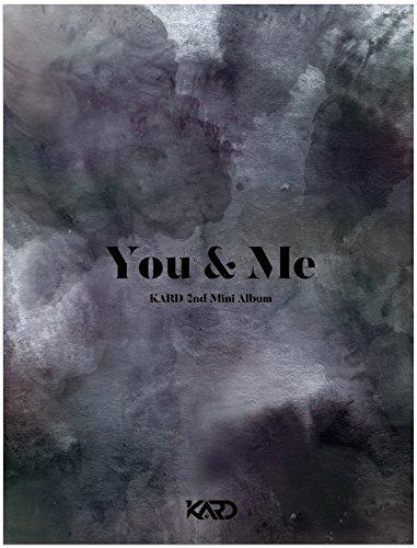 KARD - YOU & ME (2nd Mini Album) CD+2 Photocards+Folded Poster+Extra Photocard Set