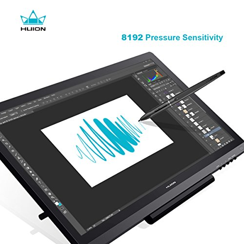 Amazon.com: Huion KAMVAS GT-191 Drawing Tablet with HD Screen 8192 Pressure Sensitivity - 19.5 Inch: Computers & Accessories