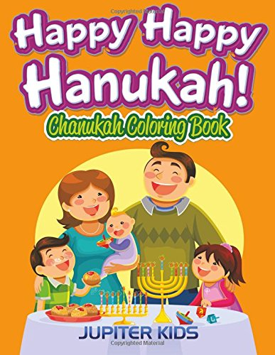 Happy Hanukah Chanukah Coloring Book