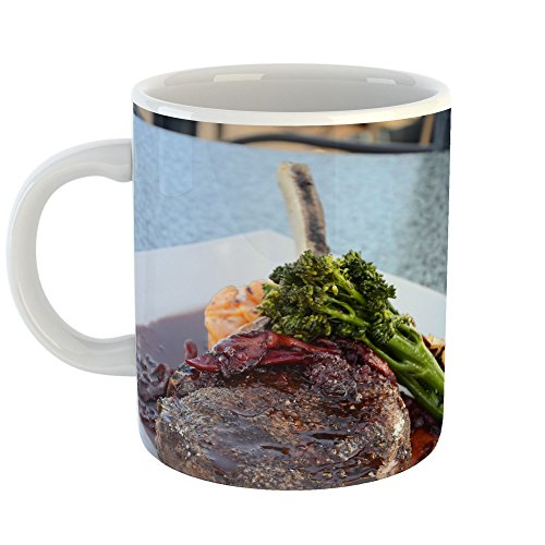 Westlake Art - Coffee Cup Mug - Food Steak - Modern Picture Photography Artwork Home Office Birthday Gift - 11oz (Roasting Standing Rib Roast)