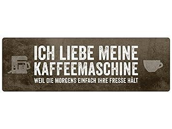 Ich Liebe Meine Kaffeemaschine Schild Kuche Buro Arbeit Laden