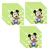 Hallmark Mickey's 1st Birthday Party Beverage Napkins - 24 Guests