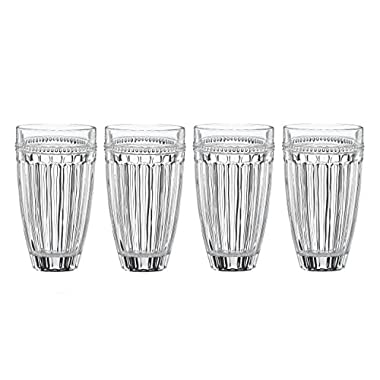 Lenox French Perle High Ball (Set of 4), Clear