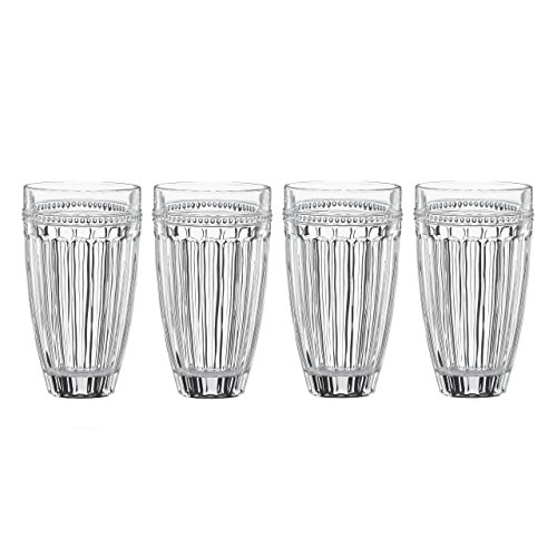 Lenox French Perle High Ball (Set of 4), Clear Review