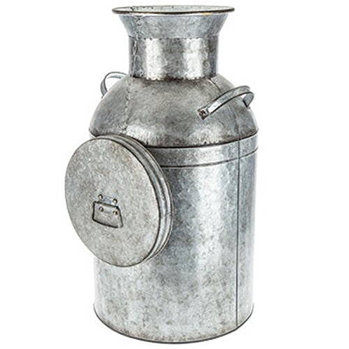Large Galvanized Metal Milk Can Farmhouse Country Charm Decor HUGE CAN! by Generic (Image #2)