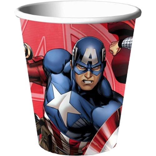Avengers Assemble 9 oz Cups Paper (8 per package)