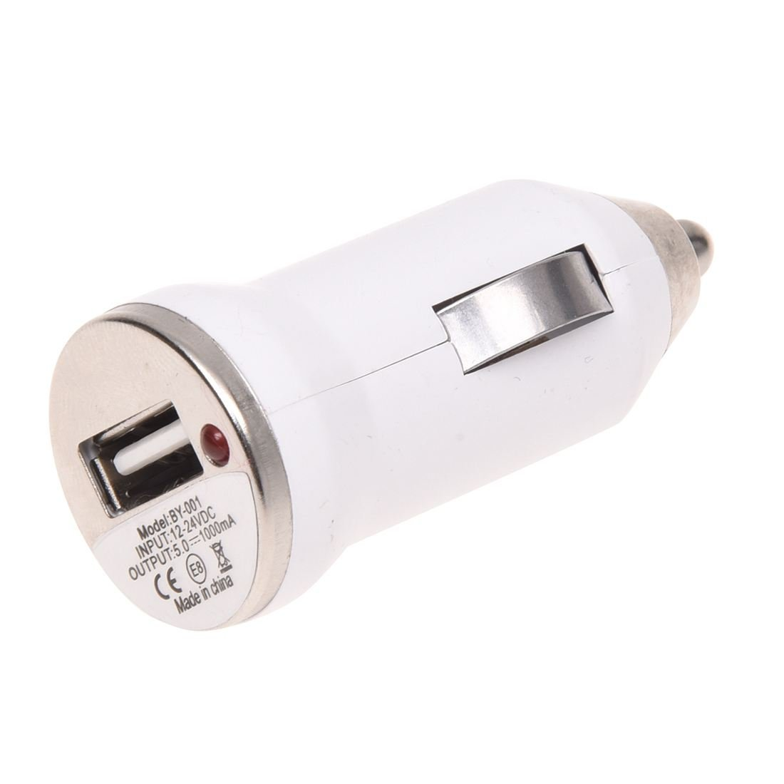 Charger - TOOGOO(R) USB Car Cigarette Lighter Charger Adapter For iPhone 5S 4S iPod Galaxy S3 S4 white
