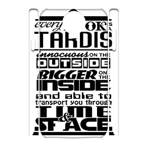 Fggcc Doctor Who Tardis Pattern Phone Case for 3D SamSung Galaxy S4 I9500,Doctor Who Tardis S4 Case (pattern 5)