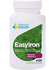 PLATINUM NATURALS Easy Iron, 120 CT