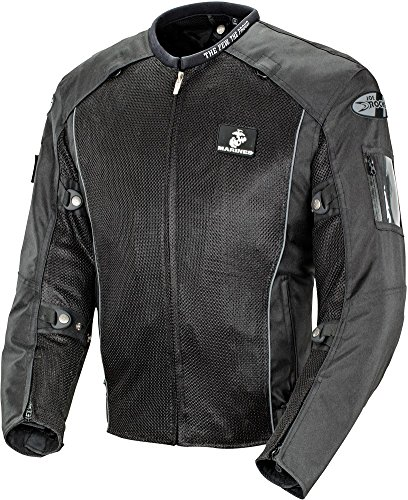 (Joe Rocket Marines Recon - Men's Military Spec Textile Mesh Motorcycle Jacket -)