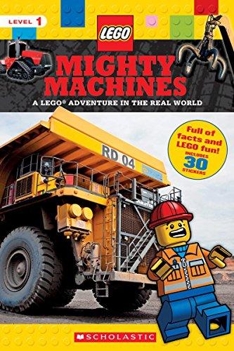 Mighty Machines (LEGO Nonfiction): A LEGO Adventure in the Real World [Scholastic - Penelope Arlon] (Tapa Blanda)