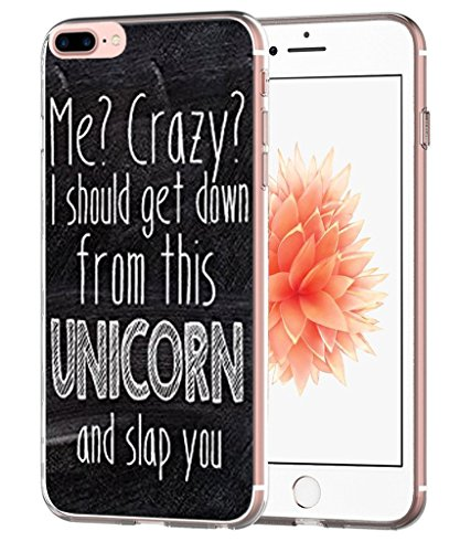 Funny Quotes - Iphone 7 Plus Case - Iphone 8 Plus Case - Topgraph [Soft Tpu Slim Fit Protective] Apple Iphone 7 Plus Iphone 8 Plus Protective Bumper Cover quotes funny