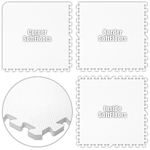 Alessco SFWE1840 SoftFloors -White -18 x 40 Set from Alessco