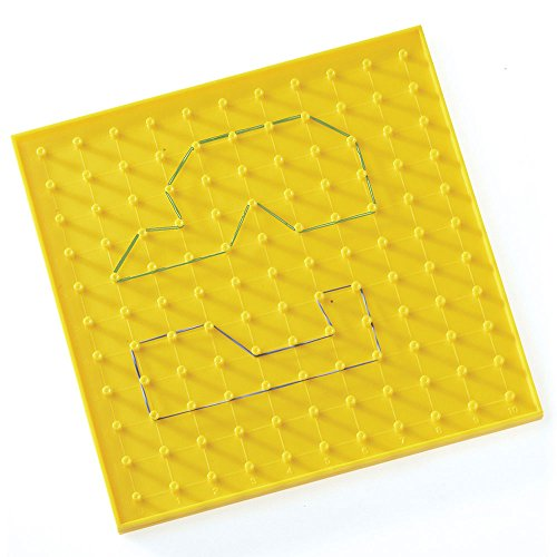 Learning Resources Single-Sided Geoboard 11 x 11 Pin