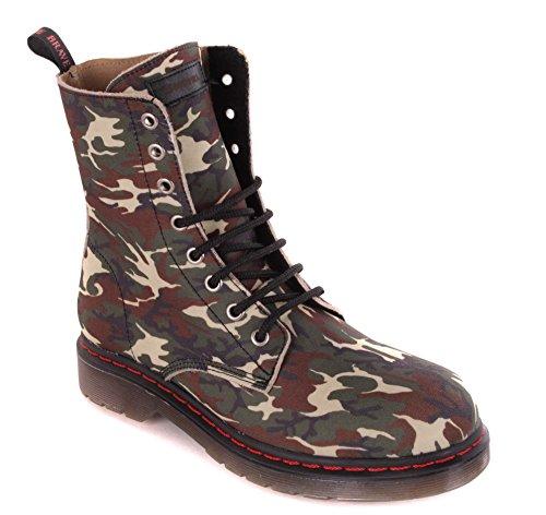 Diesel Mesdames Bottes Bottines Camouflage