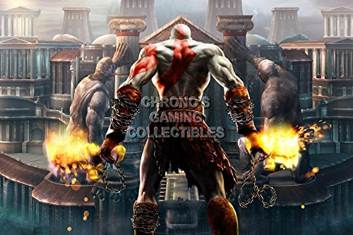 God of War CGC Huge Poster Glossy Finish II Kratos Sony PS2 PS3 PS4 PSP Vita - GOW007 (24