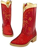Disney Store Toy Story 3 Red Sparkle Jessie Boots Size 13/1
