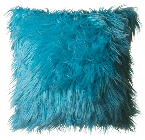 North End Décor Faux Fur Throw Pillow 18