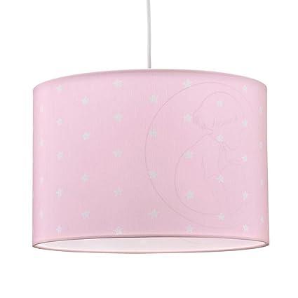 Kids Concept 6014 lámpara de techo barnkammaren, color rosa ...