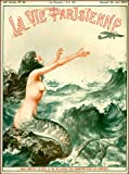 1927 La Vie Parisienne The Mermaid and the Airplane French Nouveau from a
