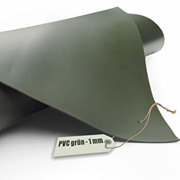 Teichfolie PVC 1mm oliv gr/ün in 4m x 2m
