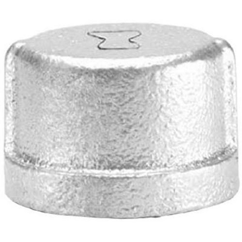 Galvanized Pipe Fittings - Anvil 8700132908, Malleable Iron Pipe Fitting, Cap, 2