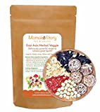 High Protein Low Calorie Superfood Dried Goji Berries, Lily Bulbs, Lotus Seeds, Wild Mushrooms Mix for Salad, Soup or Delicious Stuffings
