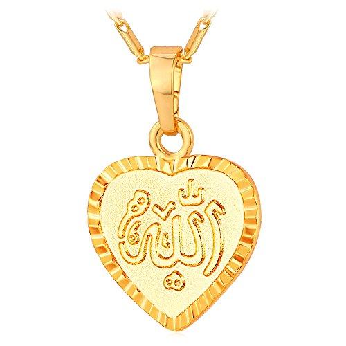 Mulsim Jewelry Allah Pendant Necklace