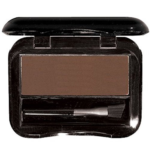 - Brush On Brow for Perfectly Shaped & Contoured Brows - Lightweight pressed brow powder compact that creates a subtle natural brow to a fierce night out brow (Dark Brown)