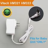 Cheap For Vtech VM321, VM333 Baby Monitor Charger Power Cord Replacement Adapter Supply for Vtech VM321, VM333 Baby Unit ONLY, DC 6V Round Port 6.6Ft
