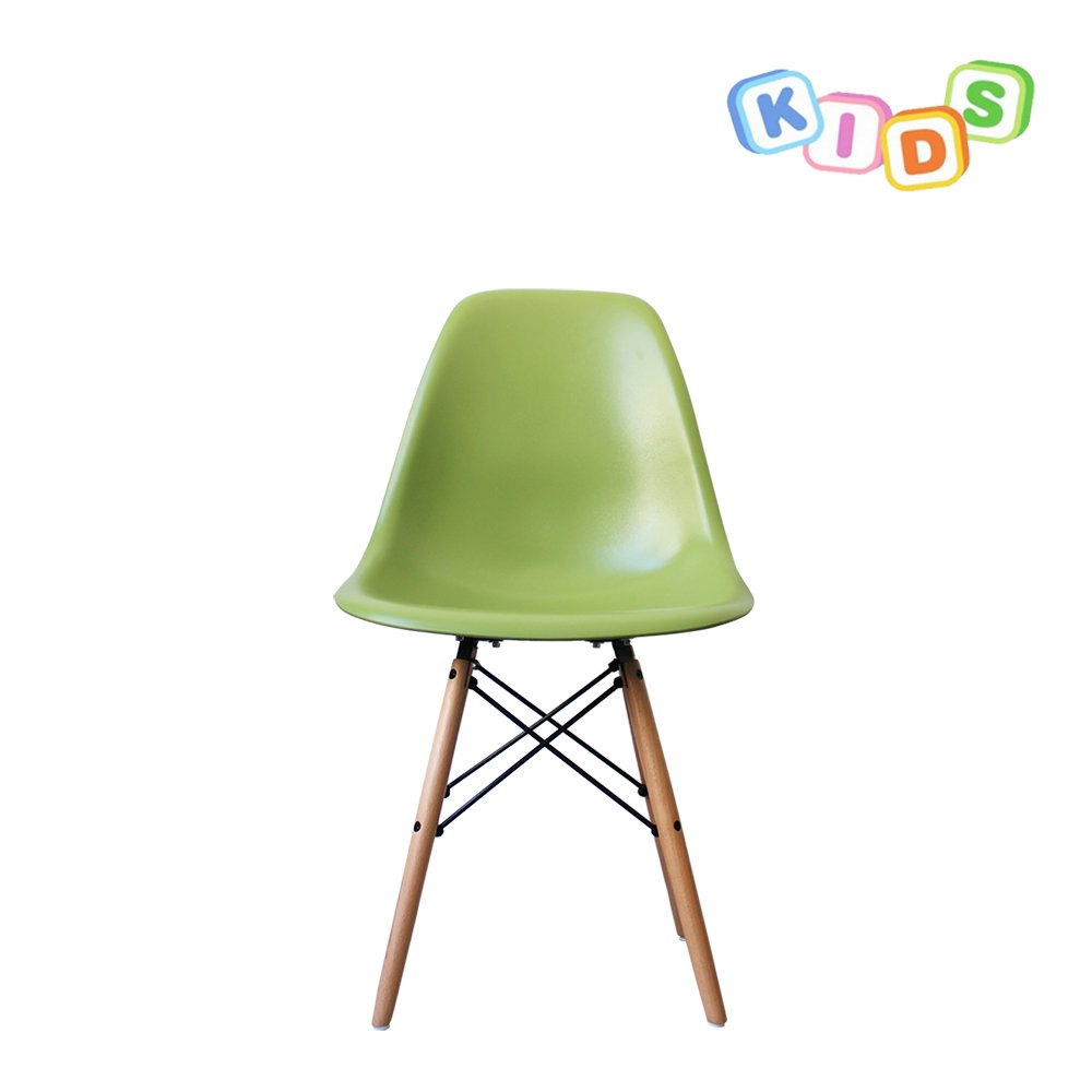 StyleInteriorFurniture Children's dining table and chairs set. White Round Table with choice of chair colours! (Black Chair, 2) Style Interior Furniture