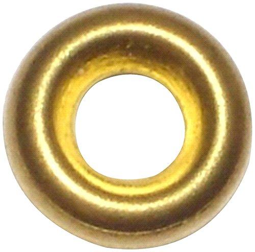 Hard-to-Find Fastener 014973436599 Finishing Washer Brass, 6, Piece-175 by Hard-to-Find Fastener