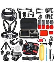 Zubehör Gopro Hero8 Black - Accessories Kit Für Actionkamera GoPro Max Hero7 Schwarz/White Hero 6 5 4 3 3+, Hero 2018/Session/Fusion, Crosstour, APEMAN, AKASO, SJCAM, Sport Action Kamera