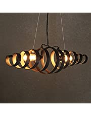 Candelabros de techo LOFT Vintage lámpara espiral lámpara retro lámpara colgante lámpara de hierro lámpara industrial lámpara colgante lámpara colgante lámpara de extremo lámpara de la lámpara